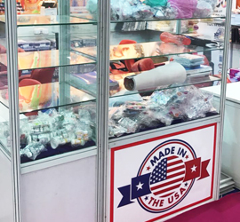 COLORISTA USA PRODUCTS DISPLAY AT BEAUTY EXPO