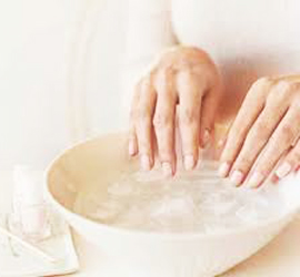 PAMPER YOURSELF BY MANICURE
